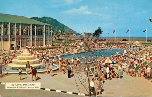 BUTLINS MINEHEAD outdoor pool