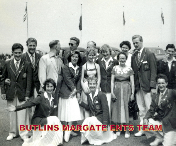 BUTLINS MARGATE REDCOATS