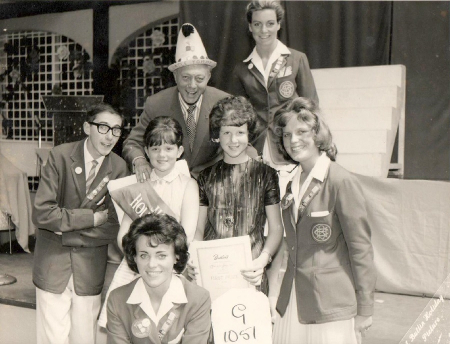 BUTLINS CLACTON 1962 Junior Princess at Redcoats Reunited