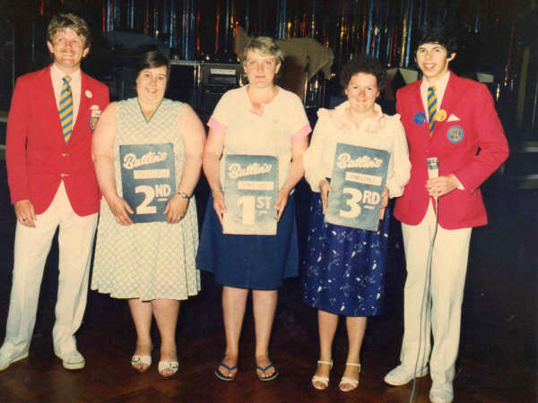Butlins Pwllheli 1985 at Redcoats Reunited Kennie 23