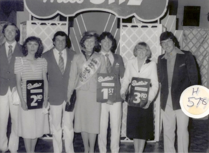 Butlins Skegness 1980 Miss She Winners