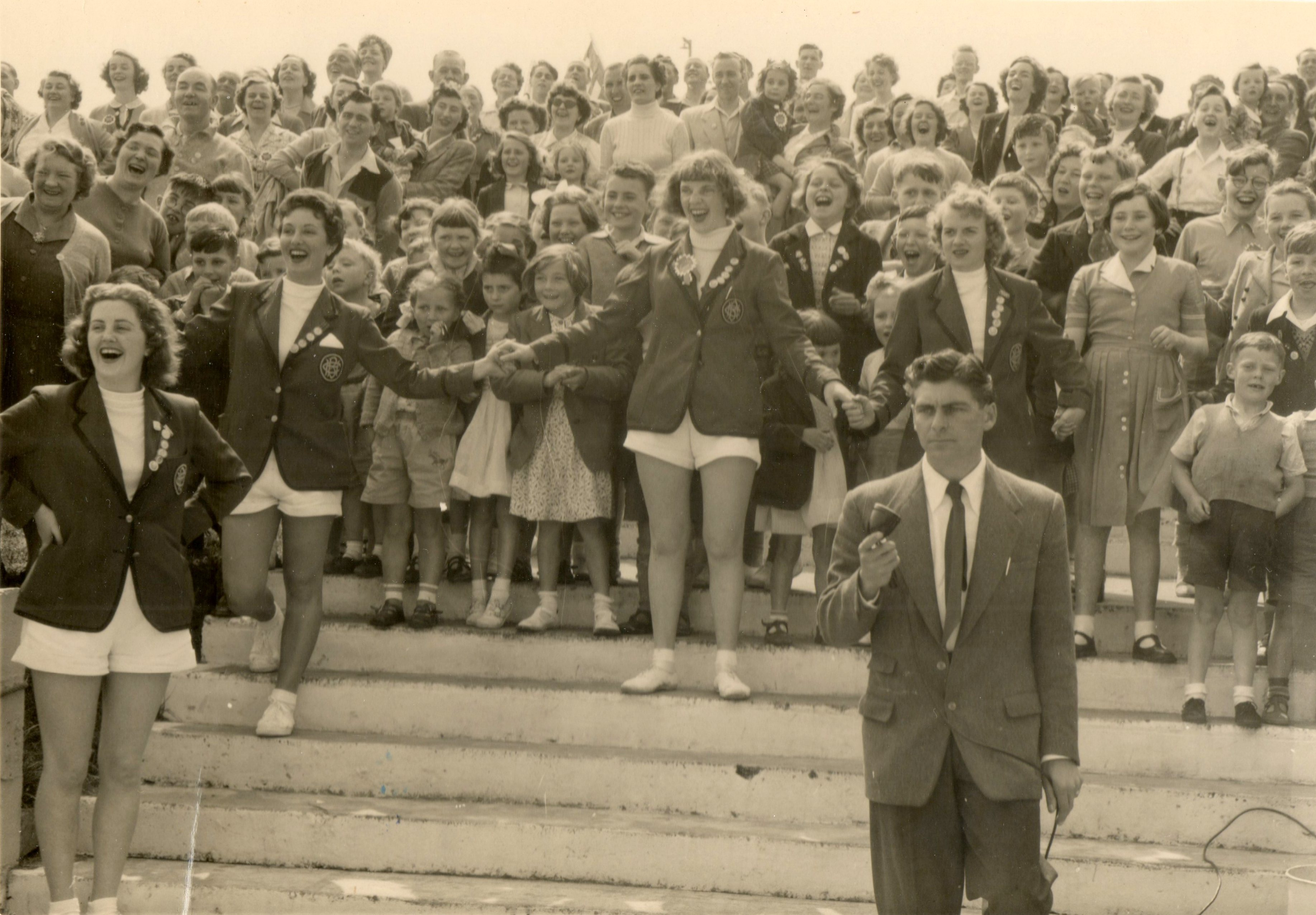 REDCOATS REUNITED Butlins Ayr 1954 swimming gala