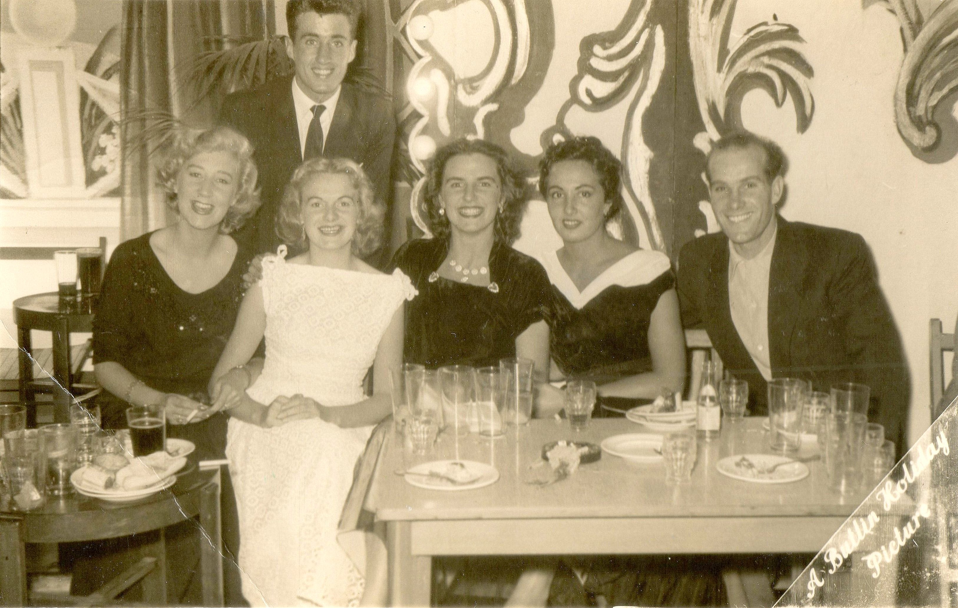 REDCOATS REUNITED Butlins Ayr 1955 Redcoat Party