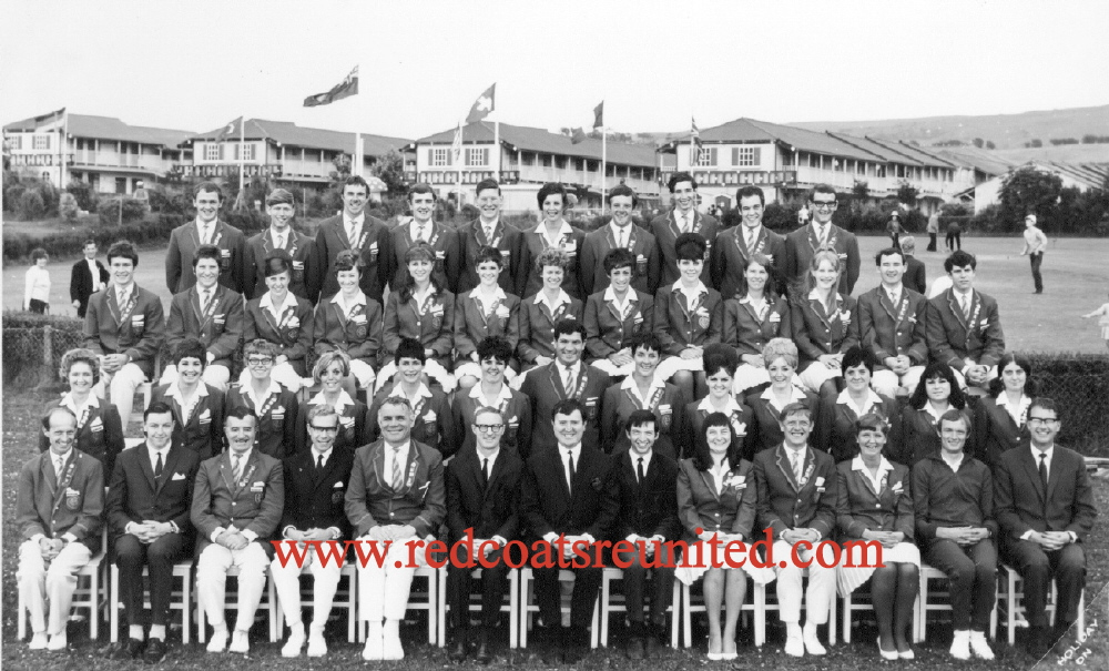 BUTLINS AYR 1967 REDCOATS