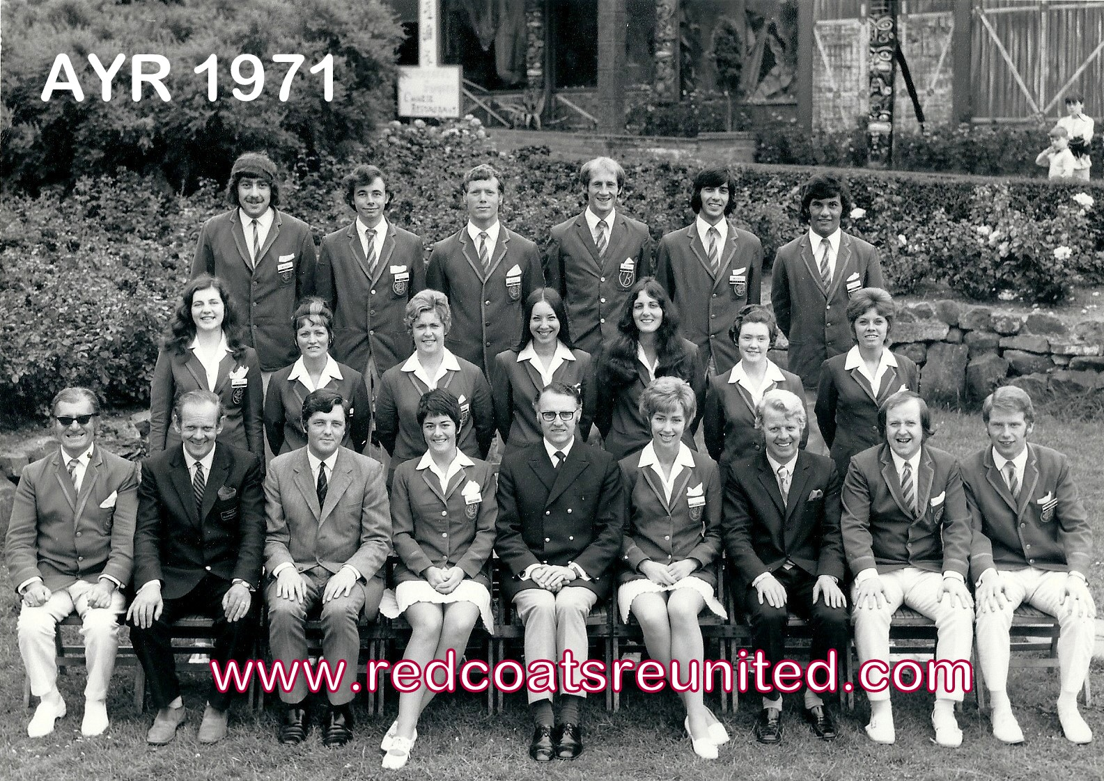 Butlins Ayr 1971 at Redcoats Reunited