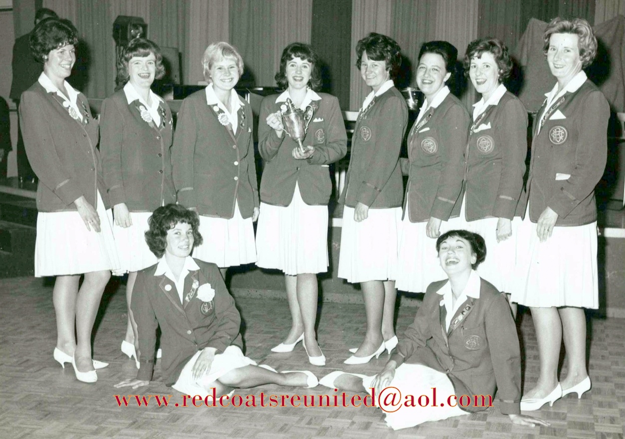 BUTLINS BOGNOR 63 REDCOAT girls