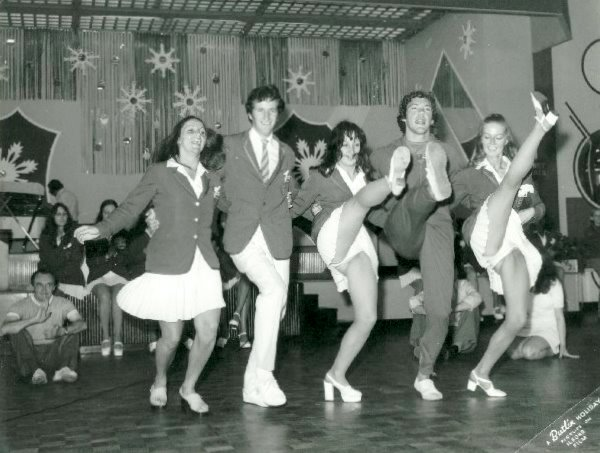 A.J Marriot at BUTLINS SKEGNESS 1973 Can Can