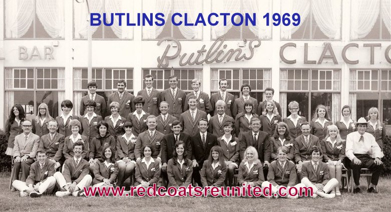 Butlins Clacton 1969 at Redcoats Reunited