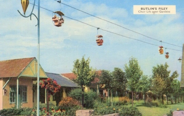 Butlins Filey postcards at Redcoats Reunited 4
