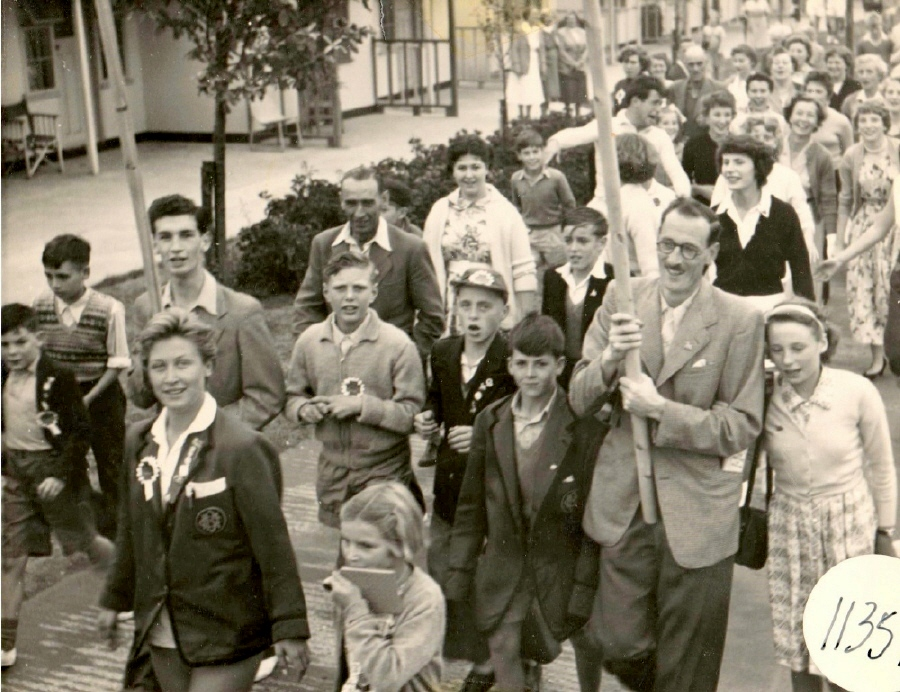 BUTLINS FILEY 1955