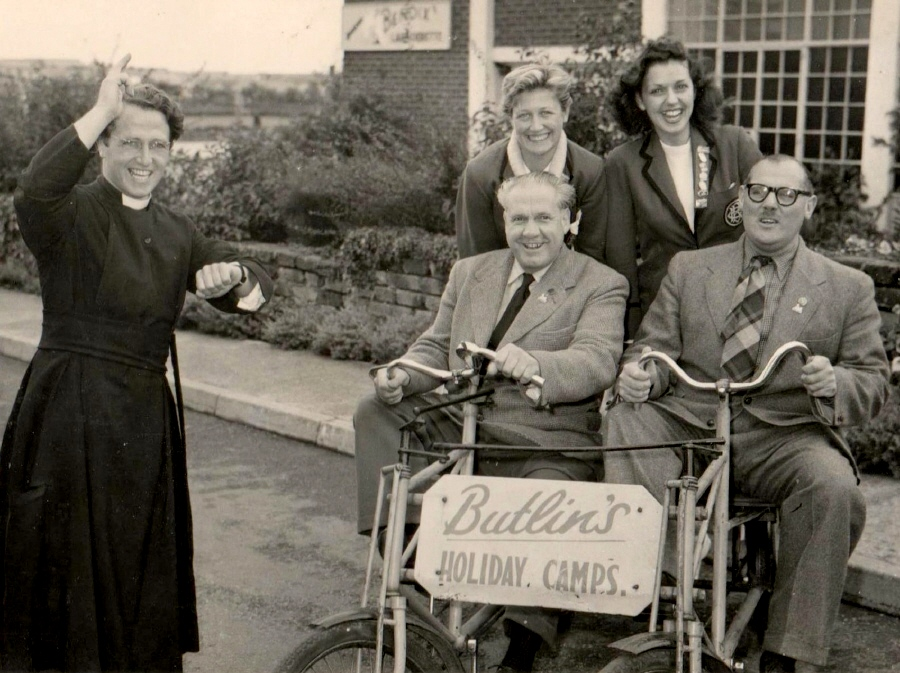 BUTLINS FILEY 1956