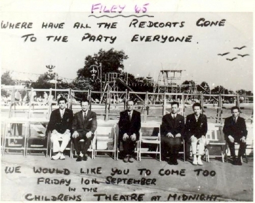 BUTLINS FILEY 1965 at Redcoats Reunited Tam 8