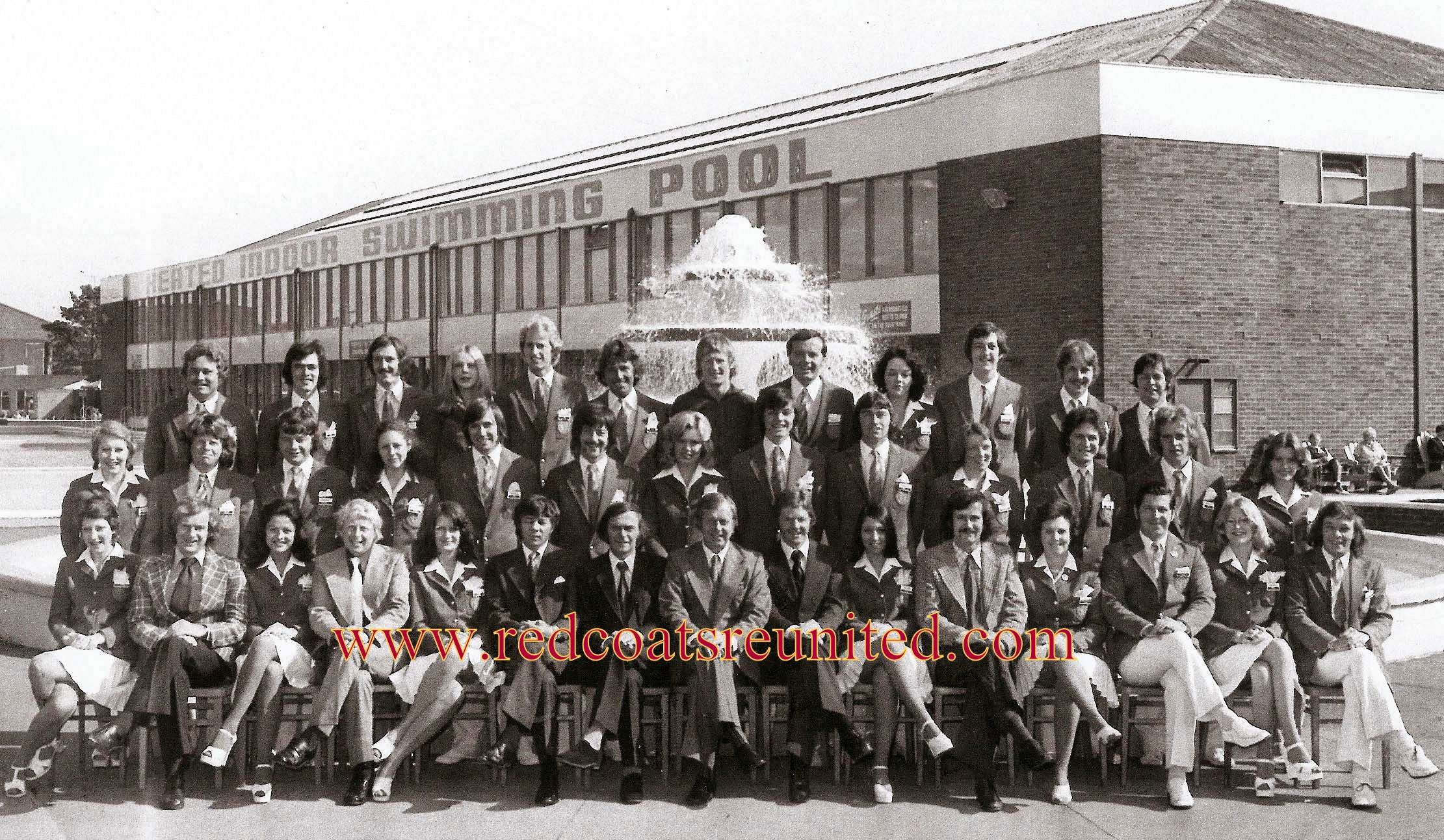 Butlins Filey 1975 at Redcoats Reunited