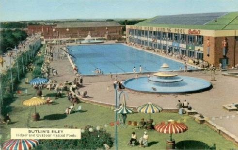 BUTLINS FILEY outdoor pool
