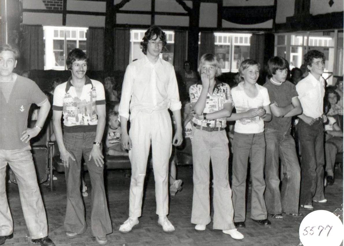 Butlins Skegness 1977 games 5 Steve at Redcoats Reunited