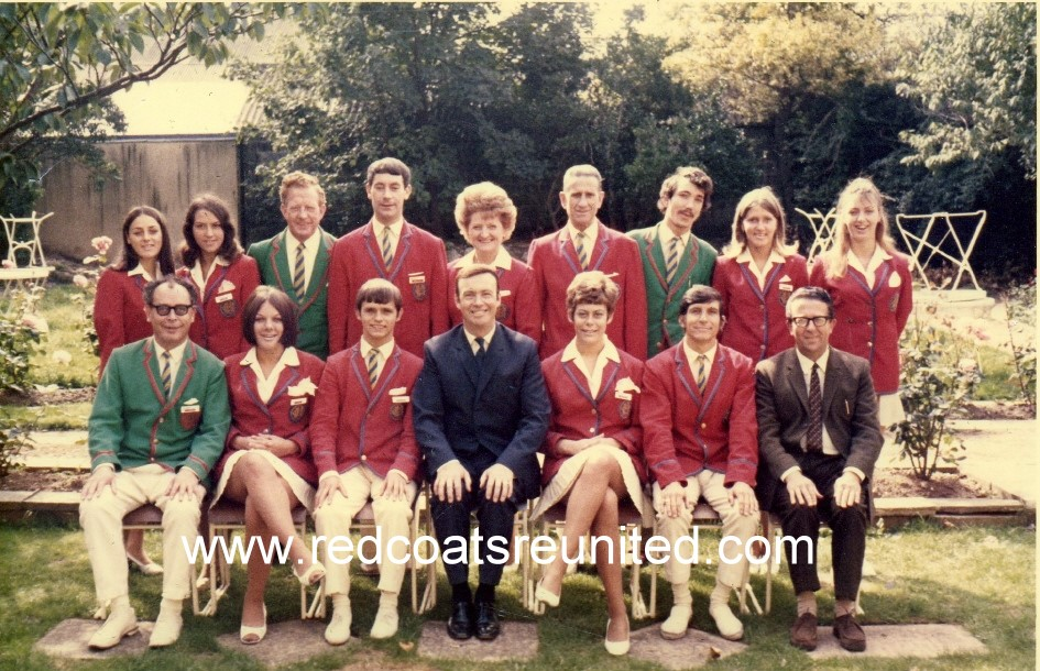 BUTLINS MARGATE REDCOATS 1969