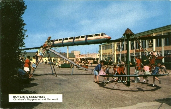 BUTLINS SKEGNESS MONORAIL 4