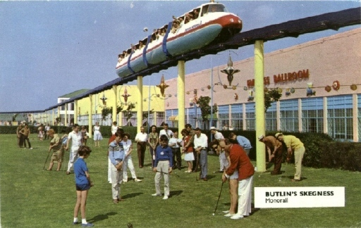 BUTLINS SKEGNESS MONORAIL 5