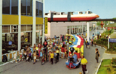 BUTLINS SKEGNESS MONORAIL 5b
