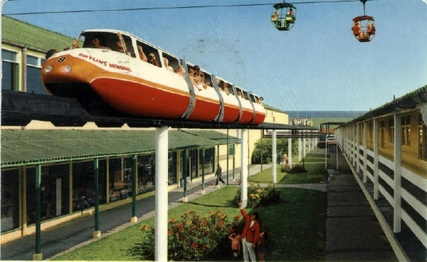 BUTLINS SKEGNESS MONORAIL 6