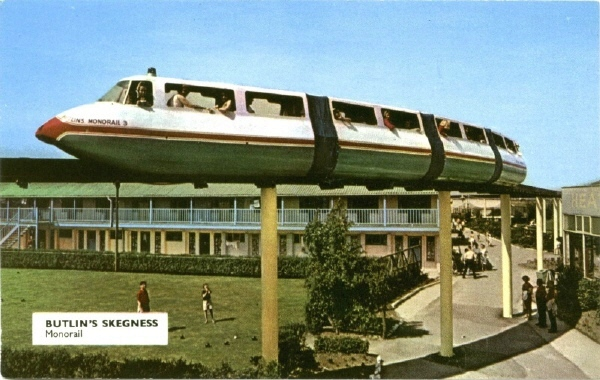 BUTLINS SKEGNESS MONORAIL 8