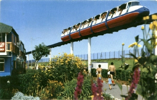 BUTLINS SKEGNESS MONORAIL