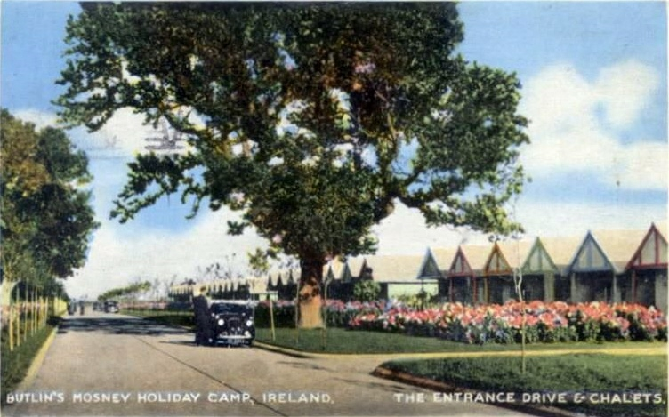 BUTLINS MOSNEY postcard views