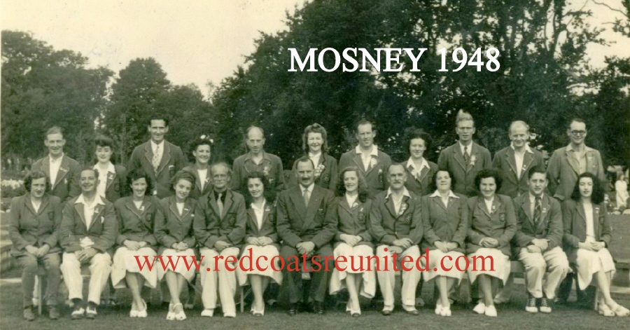 BUTLINS MOSNEY 1948 Redcoats Reunited