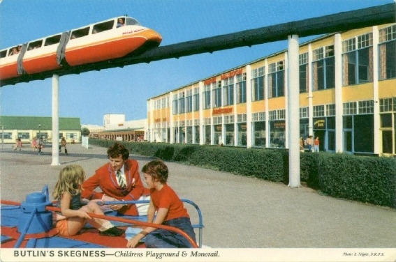 Skegness monorail 1973 A.J Marriot