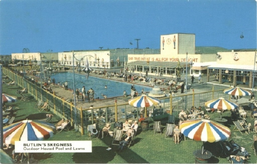 BUTLINS SKEGNESS OUTDOOR POOL