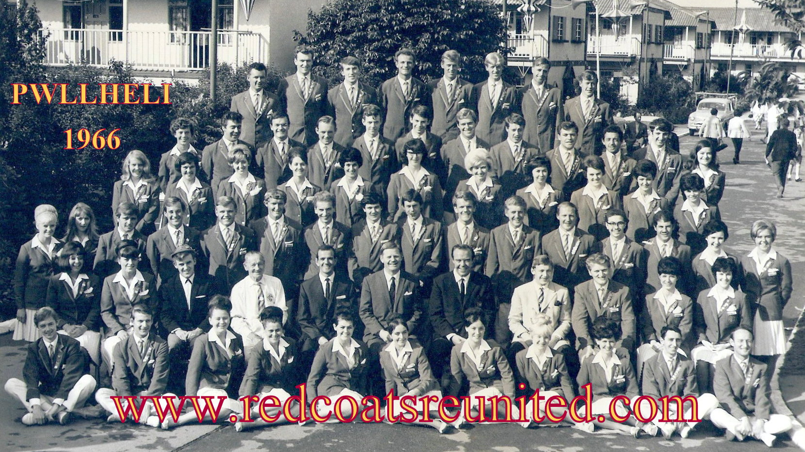BUTLINS PWLLHELI REDCOATS 1966 at Redcoats Reunited