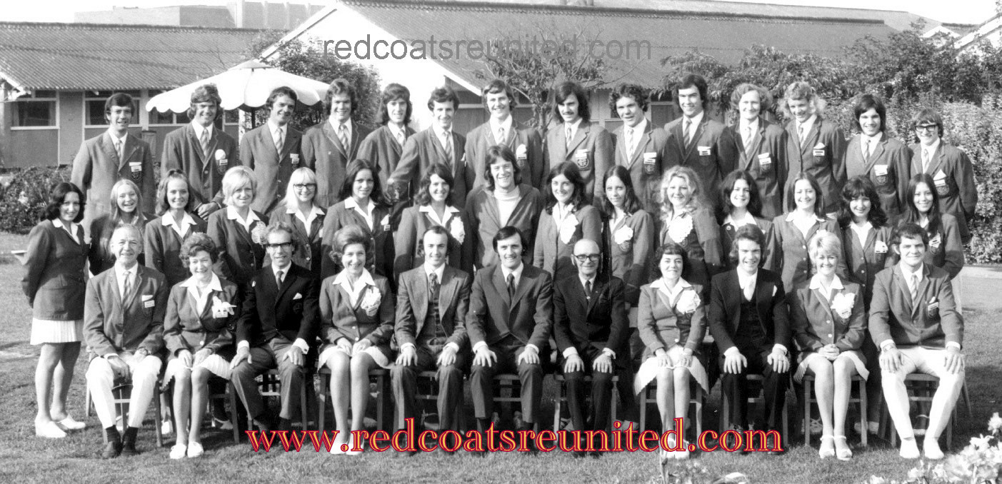 A.J Marriot BUTLINS SKEGNESS 1973 at Redcoats Reunited