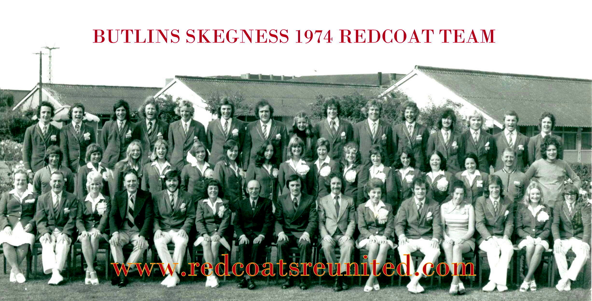 A.J Marriot BUTLINS SKEGNESS 1974 at Redcoats Reunited