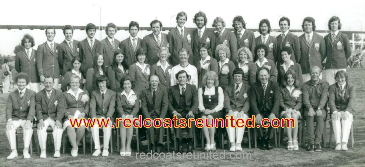 Butlins Skegness Redcoats 1975 at Redcoats Reunited