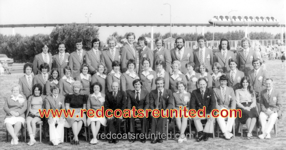 BUTLINS SKEGNESS REDCOATS 1976